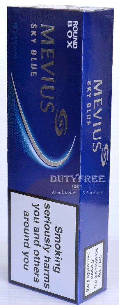 MEVIUS Sky Blue (ซองแข็ง) 1คอตตอน (Made in Japan)