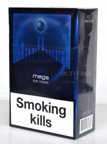 Marlboro Mega Ice Blast (1เม็ดบีบ) 1 คอตตอน