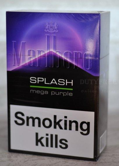 Marlboro Splash Mega purple 1เม็ดบีบ (1 คอตตอน)
