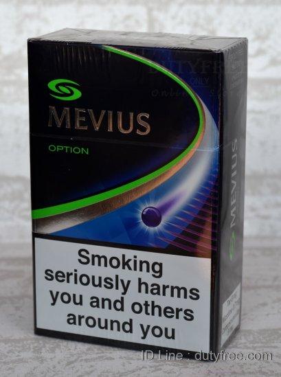 MEVIUS Option (1เม็ดบีบ) 1คอตตอน (Made in Japan)
