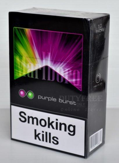 Marlboro Purple Burst 2 เม็ดบีบ (1 คอตตอน)