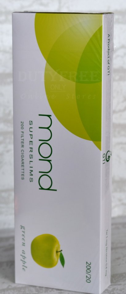 Mond Green Apple Superslims (1 คอตตอน)