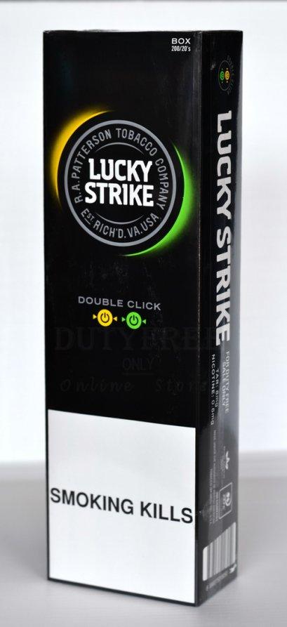 Lucky Strike Wild Double Click (2 เม็ดบีบ) 1 คอตตอน