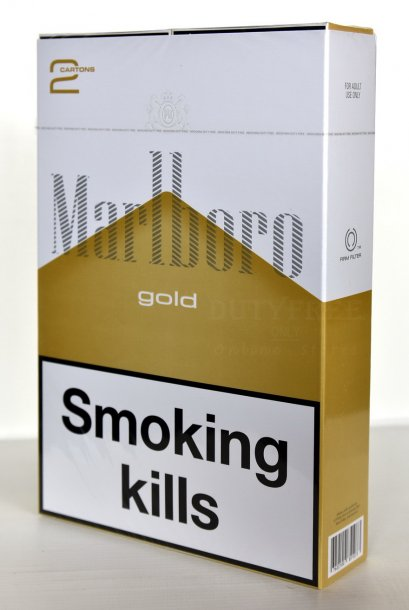 Marlboro Gold (Swiss) Jumbo Set 2 คอตตอน