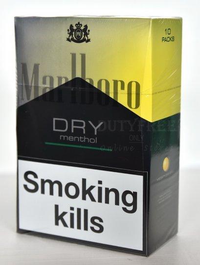 Marlboro Dry Menthol  (1คอตตอน)