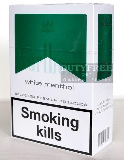 Marlboro White Menthol 1 คอตตอน