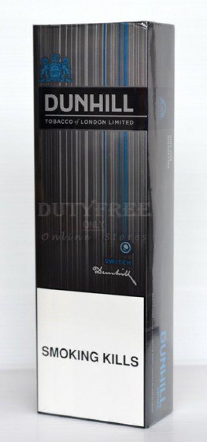 Dunhill Sliver Switch (มีเม็ดบีบ) 1คอตตอน