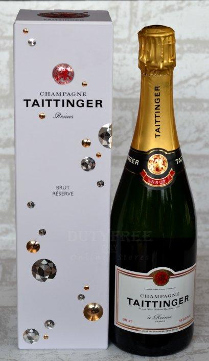 ลัง 12 ขวด Taittinger Brut Reserve Champagne