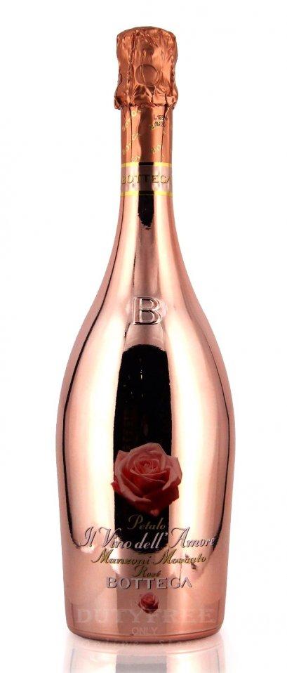 ลัง 12 ขวด Bottega Il Vino Dell'Amore Petalo Pink Manzoni Moscato Rose