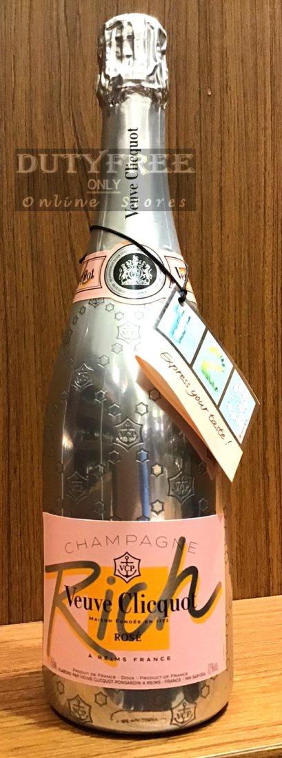 ลัง 6 ขวด Veuve Clicquot Ponsardin Rose