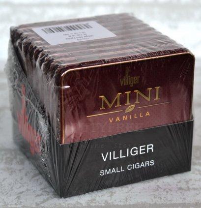 Villiger Mini Vanilla (กล่องเหล็ก 10 กล่อง)