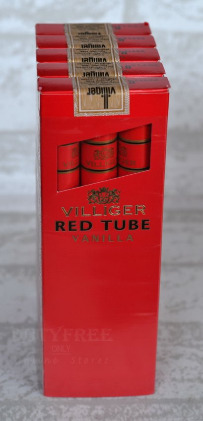 Villiger Red Tube Vanilla 3 X 5 = 15