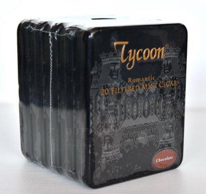 แพ็ค 5 กล่อง Tycoon Romantic Mini Cigar (Chocolate)
