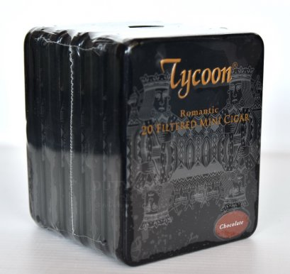 แพ็ค 5 กล่อง Tycoon Romantic Mini Cigar (Chocolate)