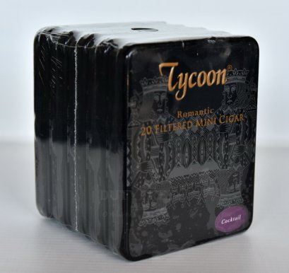 แพ็ค 5 กล่อง Tycoon Romantic Mini Cigar ( Cocktail )