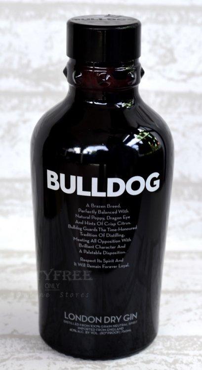 ลัง 12 ขวด Bulldog London Dry Gin 75cl