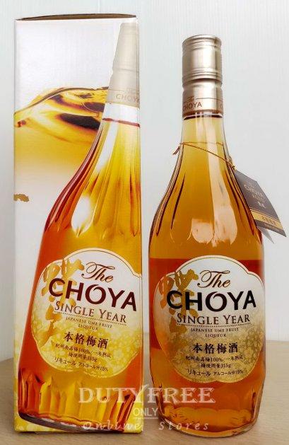 ลัง 12 ขวด The Choya Single Year 72cl.