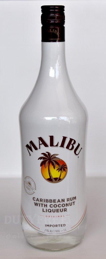 ลัง 12 ขวด Malibu White Rum 1Liter