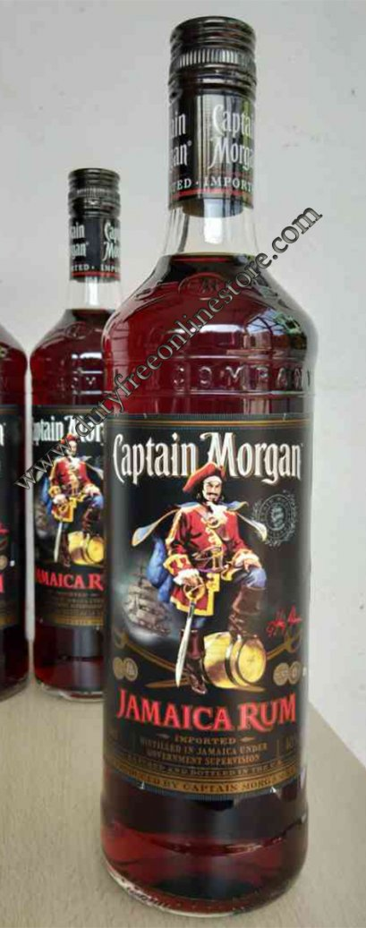 ลัง 12 ขวด Captain Morgan Jamaica Rum 750ml.
