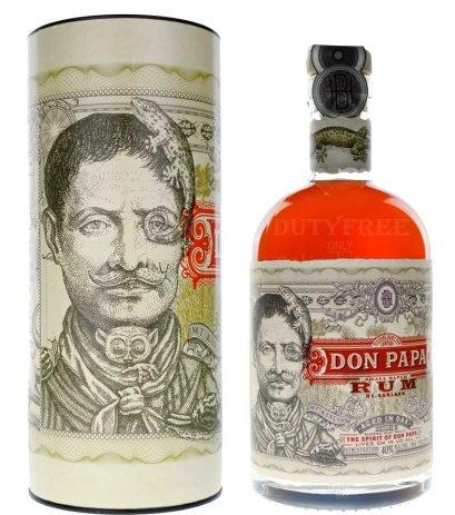 ลัง 12 ขวด Don Papa Rum Small Batch 70cl.