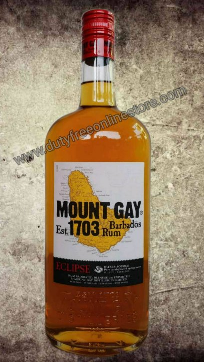 ลัง 12 ขวด Mount Gay Eclipse, Barbados Rum 1Liter