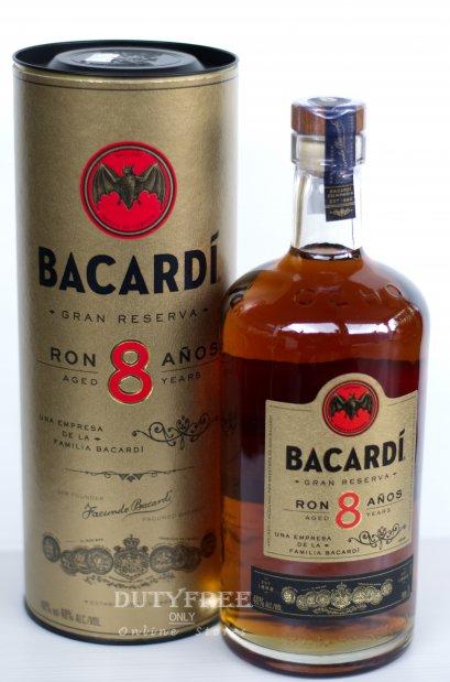 Bacardi Ron 8 Anos Reserva 1Liter