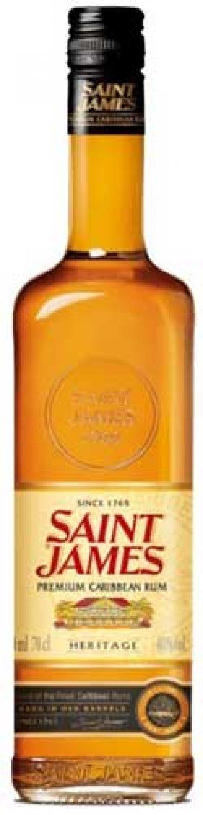 ลัง 12 ขวด Saint James Premium Caribbean Heritage Rum 70cl