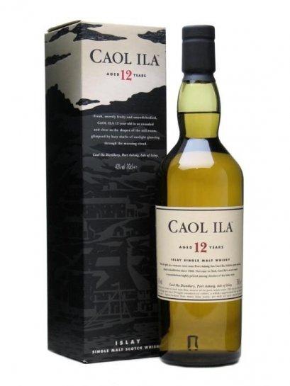 ลัง 12 ขวด Caol Ila 12 Year Old 70cl.