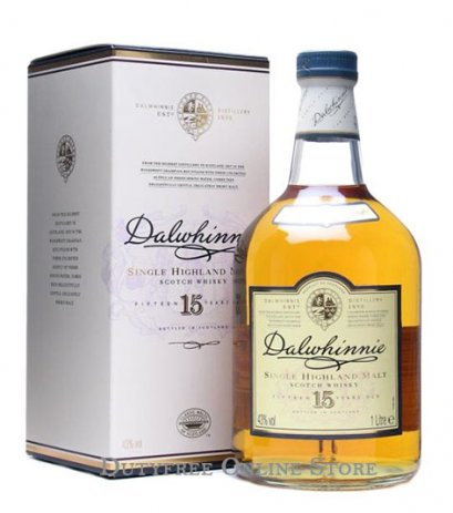 Dalwhinnie 15 Year Old 75cl.