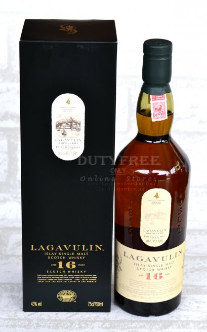 ลัง 12 ขวด Lagavulin 16 Year Old 750ml.(copy)
