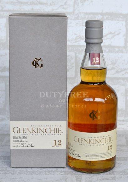 ลัง 12 ขวด Glenkinchie 12 Year Old 75cl.
