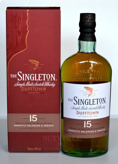 ลัง 12 ขวด Singleton of Glendullan Dufftown 15 Year Old 70cl.