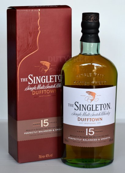 Singleton of Glendullan Dufftown 15 Year Old 70cl.