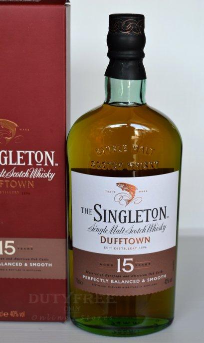 Singleton of Glendullan Dufftown 15 Year Old 70cl.