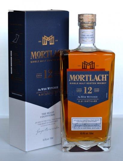 ลัง 12 ขวด Mortlach 12 years 75cl.