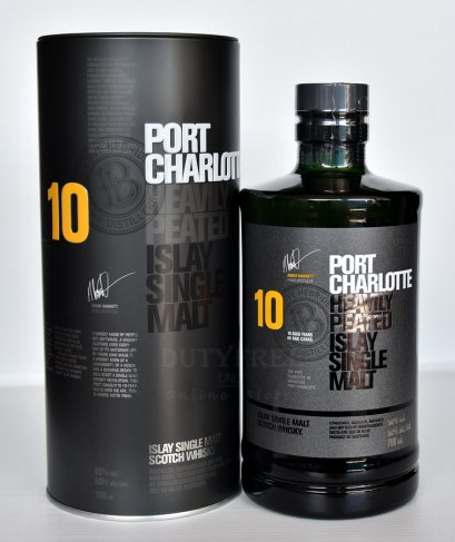 ลัง 12 ขวด Bruichladdich Port Charlotte 10 Year Old 700ml.