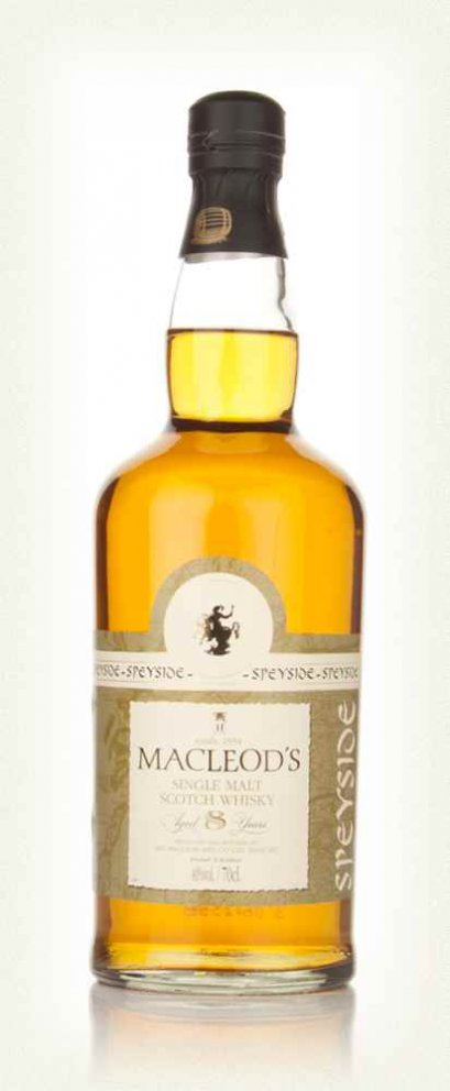Macleod's 8 Year Old Speyside 70cl.