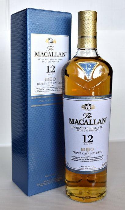 ลัง 12 ขวด The Macallan 12 Year Old Fine Oak Triple Cask Matured 70cl.