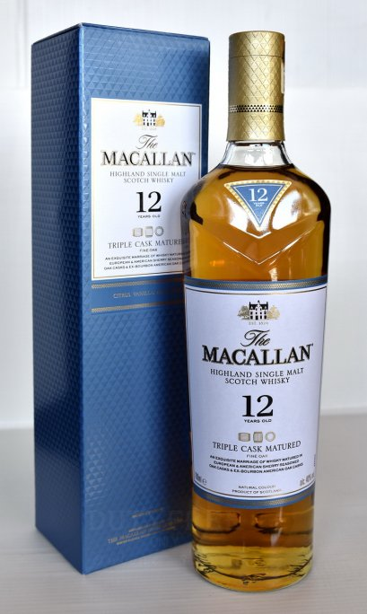 ลัง 12 ขวด The Macallan 12 Year Old Fine Oak Triple Cask Matured 70cl.