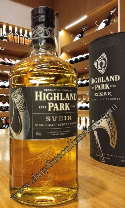 Highland Park Svein Single Malt Scotch Whisky 1 Liter