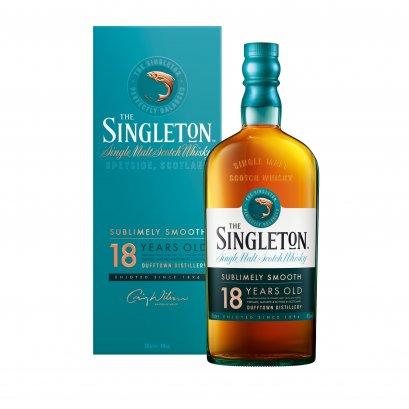 Singleton of Glendullan Dufftown 18 Year Old 70cl.