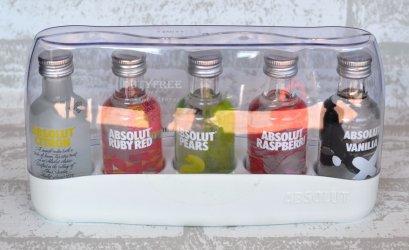 Absolut Vodka Set (50 ml. x 5)