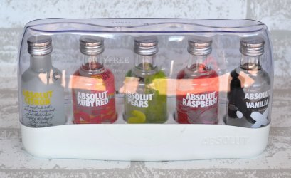 Absolut Vodka Set (50 ml. x 5)