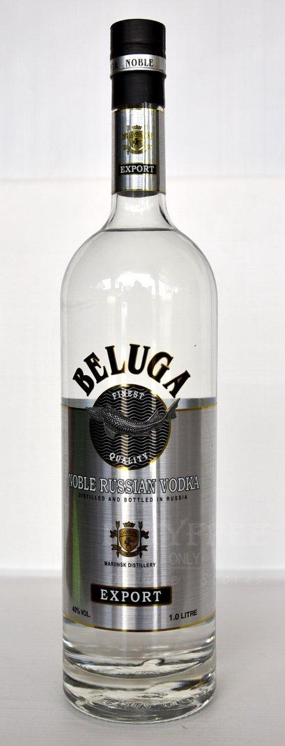 ลัง 12 ขวด Beluga Noble Russian Vodka 1Liter