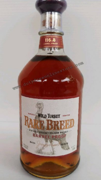 ลัง 12 ขวด Wild Turkey Rare Breed Barrel Proof 750ml.