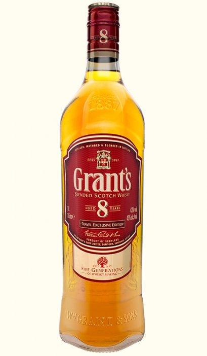 ลัง 12 ขวด Grant's 8 Year Old 700ml.