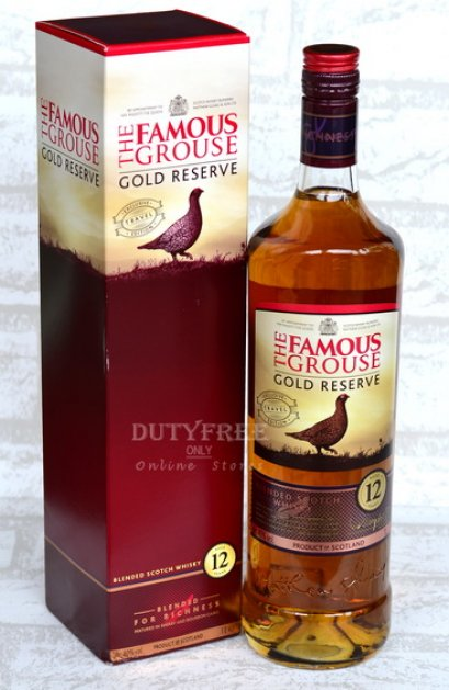 Famous Grouse Gold Reserve 12Years  1Liter