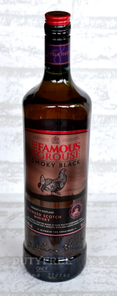 The Famous Grouse Smoky Black 1Liter