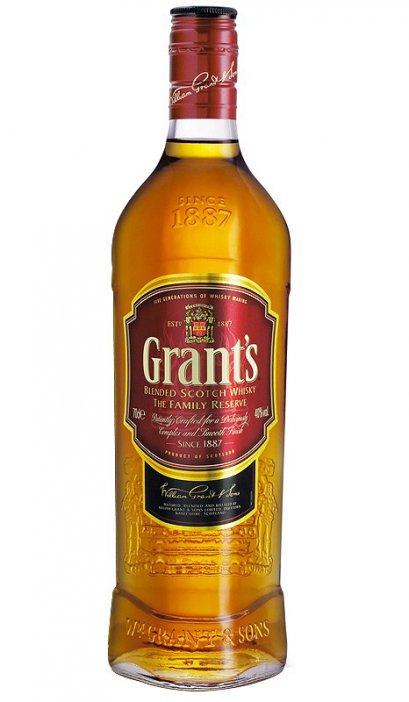 ลัง 12 ขวด Grants Family Reserve Blended Whisky 1Liter