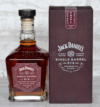 ลัง 12 ขวด Jack Daniel's Single Barrel Rye 750ml.